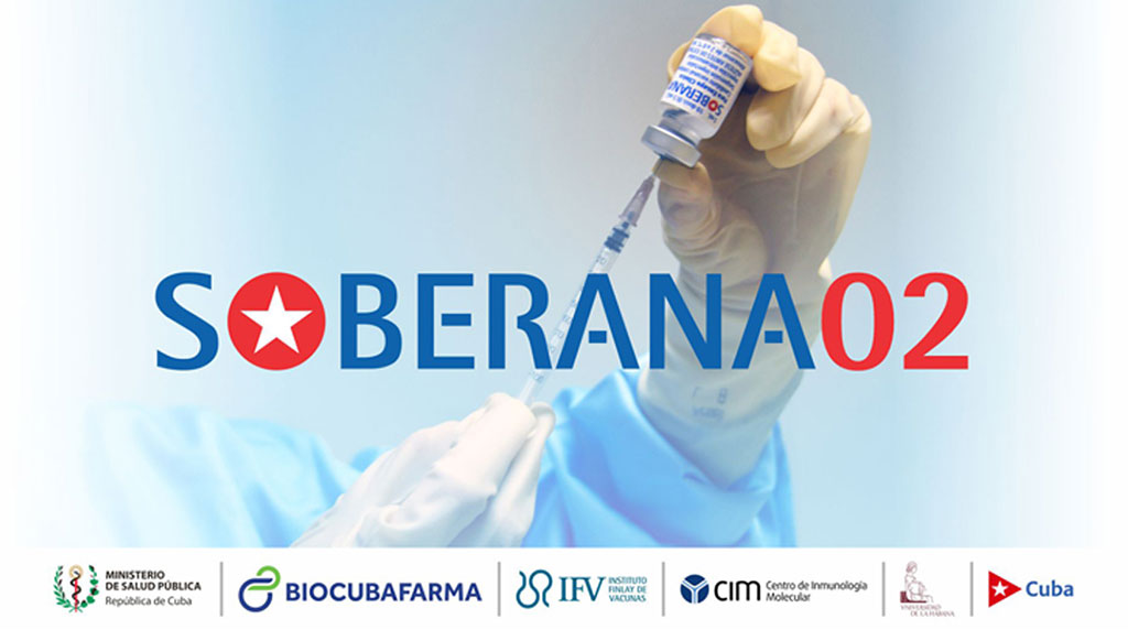 Publica Instituto Finlay informe de eficacia clínica de Soberana 02 en esquema de dos dosis