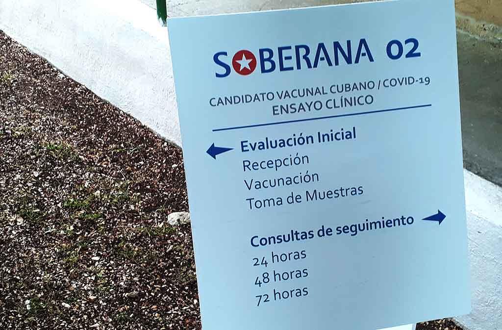 Inicia en Policlínico 19 de abril Fase 2B del ensayo clínico de Soberana 02