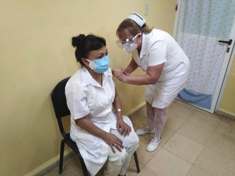 Comenzó en Ciego de Ávila intervención de candidato vacunal Abdala