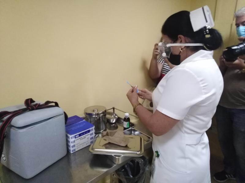 Comenzó en Ciego de Ávila vacunación de candidato vacunal Abdala