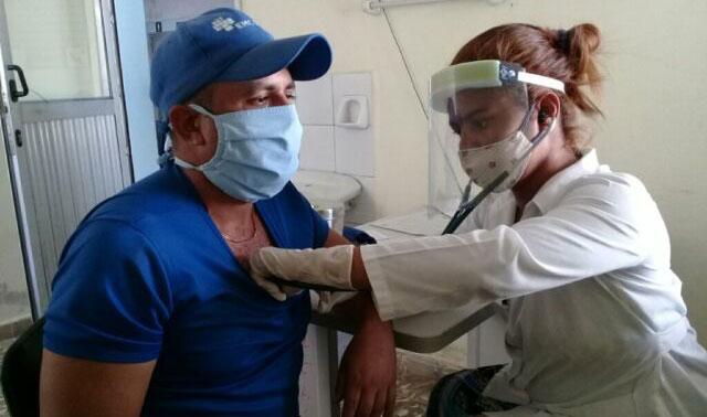 Aplican candidato vacunal Abdala en Manzanillo