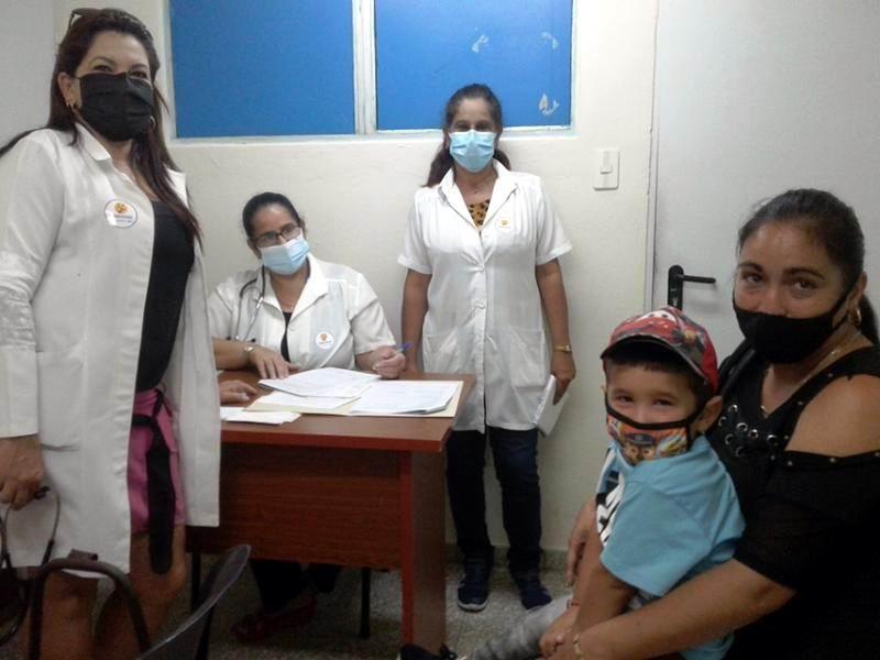 Vacunados en Cienfuegos los pacientes del Ensayo Clínico Soberana Plus Pediatría (+Audio)