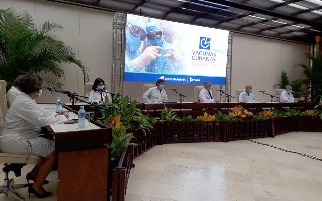 Informan sobre inmunógenos cubanos contra la COVID-19 (+ Audio y Vídeos)