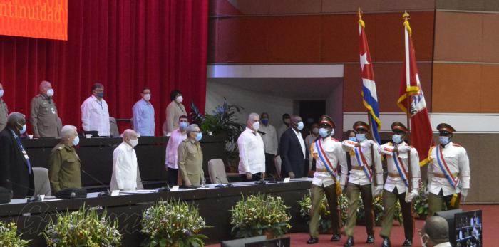 Inició Sesión de Clausura del 8vo. Congreso del Partido Comunista de Cuba