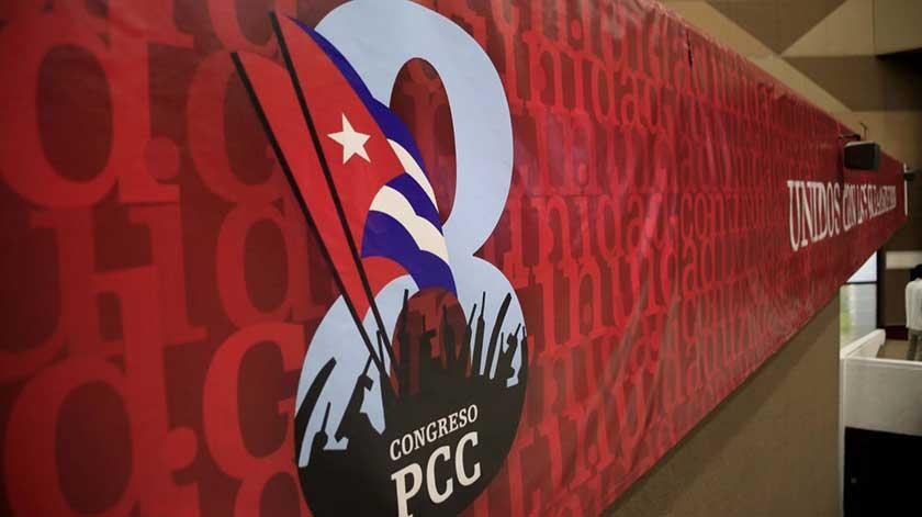 Este lunes, jornada final del 8vo. Congreso del Partido