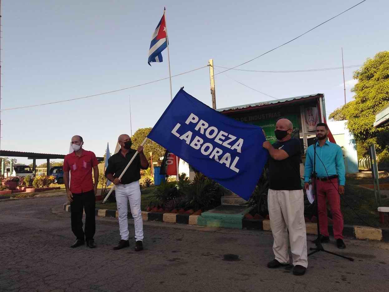 Proeza Laboral para la gasificadora Las Tunas devino en reafirmación revolucionaria (+Audio)