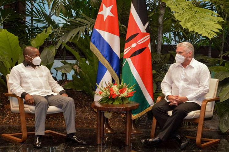 Cuban President receives Kenya Health Minister