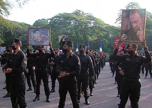 Brigada Especial Nacional del MININT repudia injerencia yanqui (+Video)