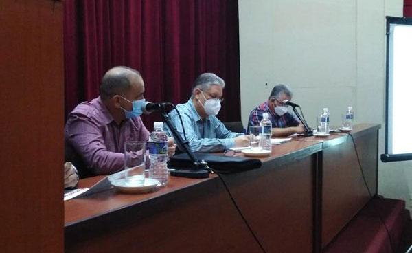 Preside Alejandro Gil comisión temporal para el enfrentamiento a la COVID-19 en Pinar del Río (+Audio)
