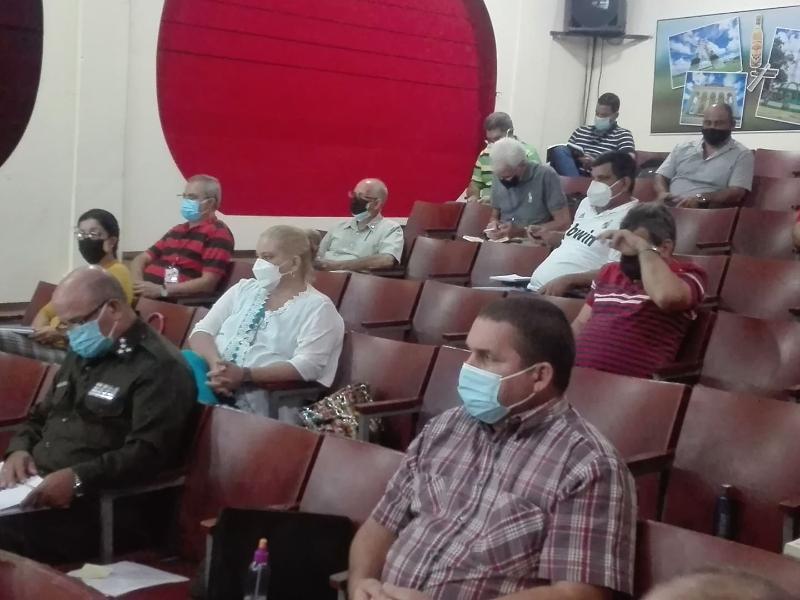 Preside Alejandro Gil comisión temporal para el enfrentamiento a la COVID-19 en Pinar del Rio