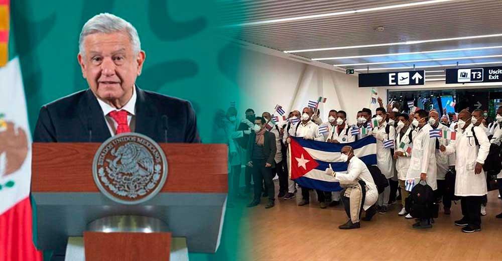 Presidente mexicano agradece apoyo de Cuba en lucha frente a la COVID-19
