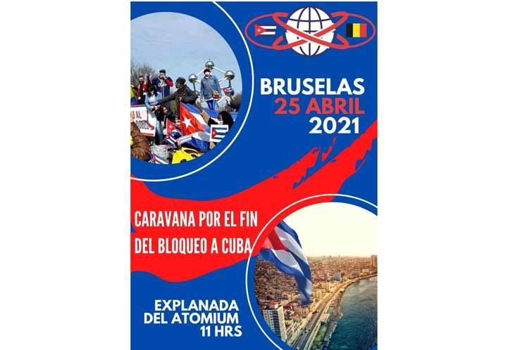 Asociaciones belgas condenan el bloqueo impuesto por EEUU a Cuba