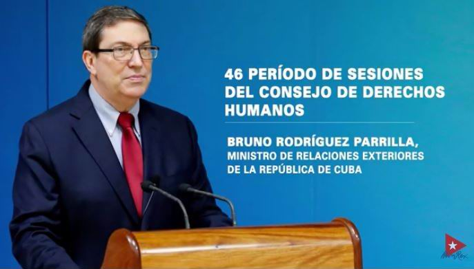 Cuban Foreign Minister reaffirms commitment to human rights and denounces aggressions