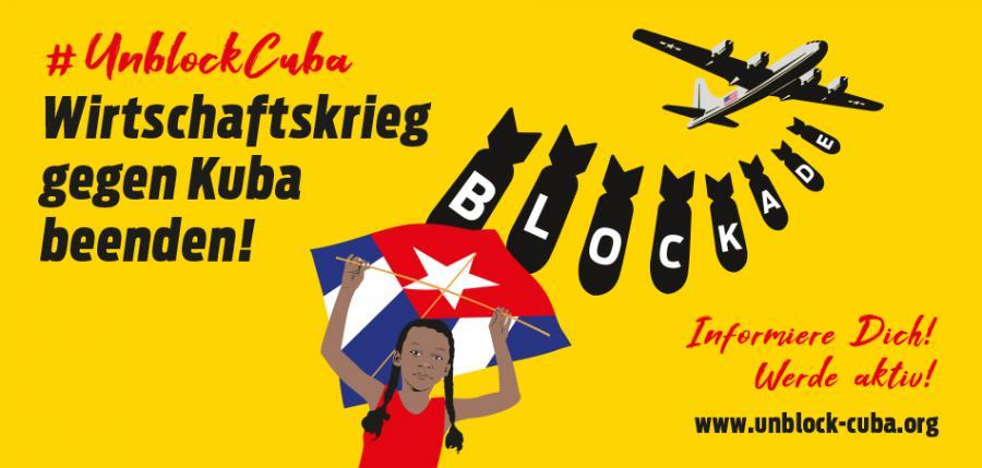 Primeras acciones de Caravana Mundial contra el bloqueo