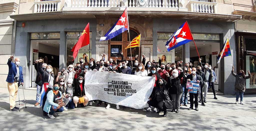 Agradece Díaz-Canel apoyo a Cuba en su lucha contra el bloqueo de EE.UU.