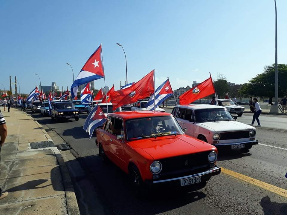 Caravana cubana contra el bloqueo recorre el litoral habanero (+Video)
