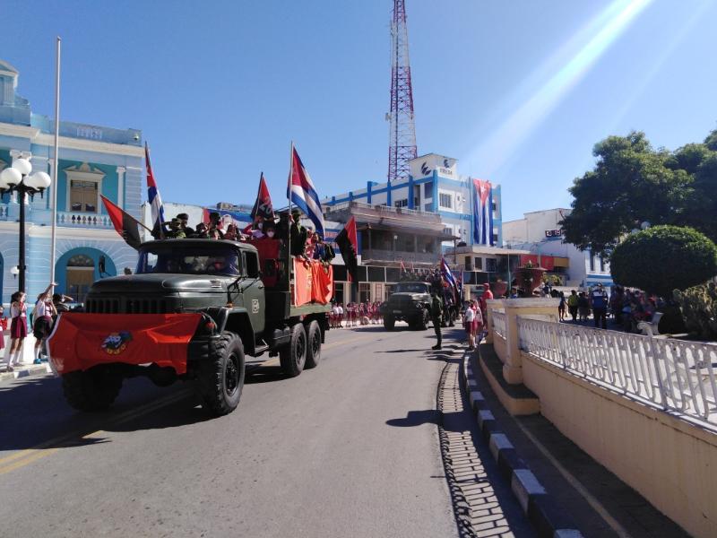 Jóvenes tuneros ratifican continuidad de la Revolución (+Audio)