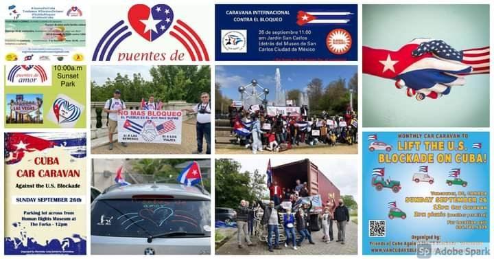 Nueva jornada de solidaridad internacional contra el bloqueo (+Video)