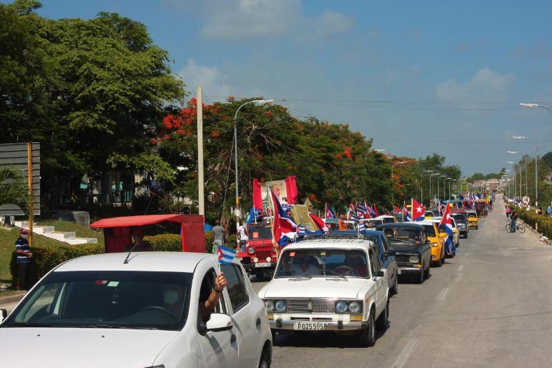 Condena popular desde la avenida Libertadores