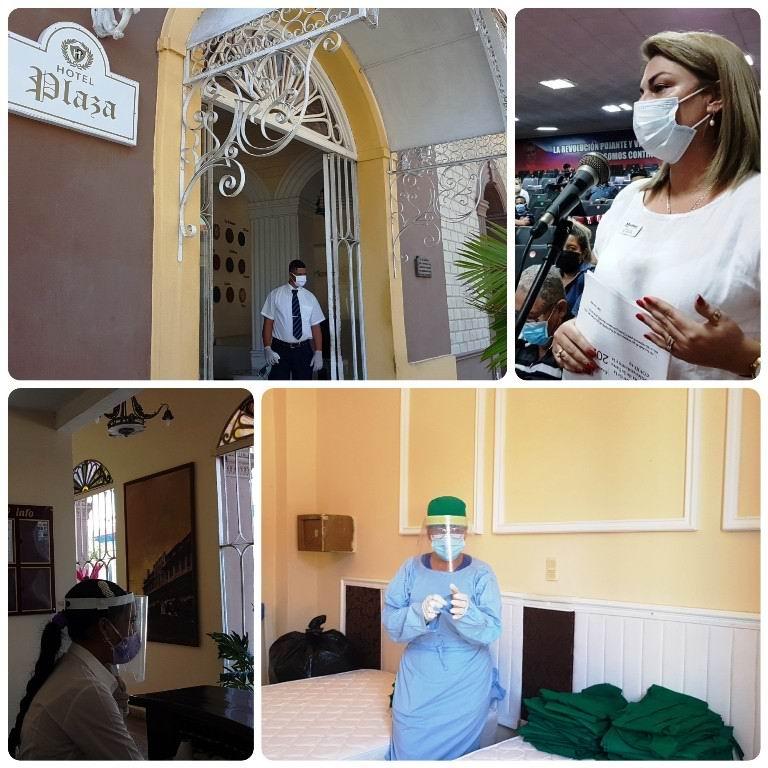El sector del turismo mantiene protocolos de salud en Centros de Aislamiento