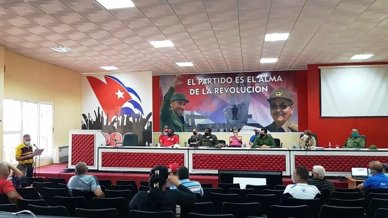 Consejo Defensa provincial Camagüey