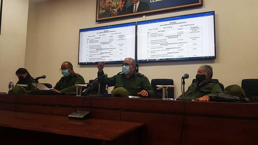 Evacúa Consejo de Defensa de La Habana preocupaciones de la población