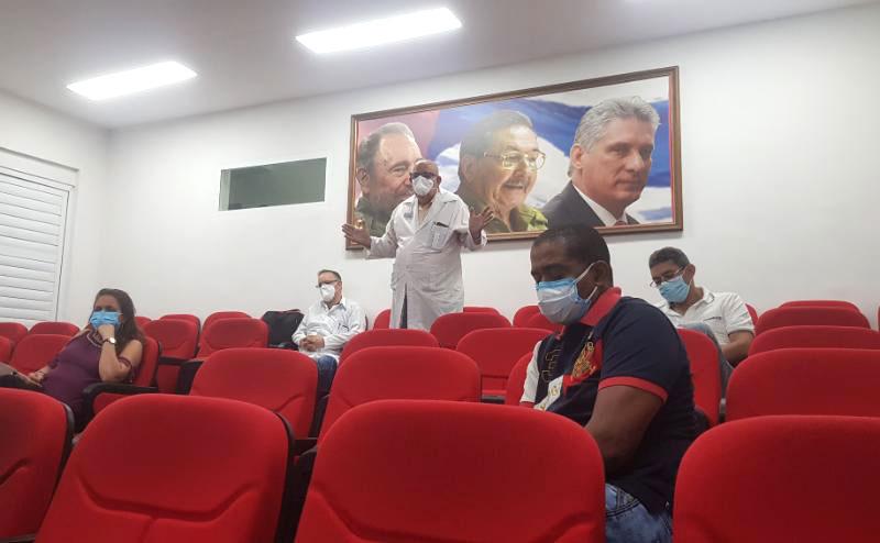 Ejecutan en La Habana protocolos sanitarios en función del bienestar y la comodidad de los pacientes