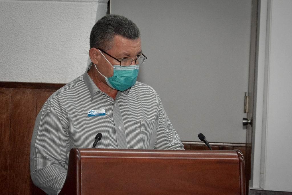 Presidente del Instituto Nacional de Recursos Hidráulicos, Antonio Rodríguez Rodríguez
