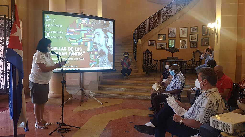 Convocan a Evento Virtual Continental Africano de Solidaridad con Cuba