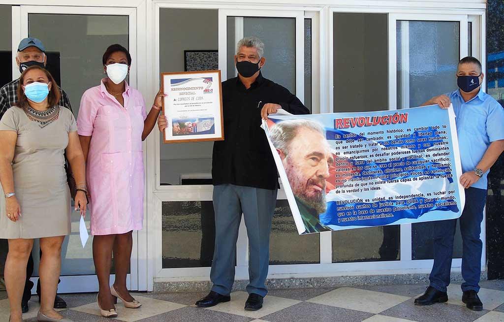 Celebran aniversario 265 del Correo en Cuba