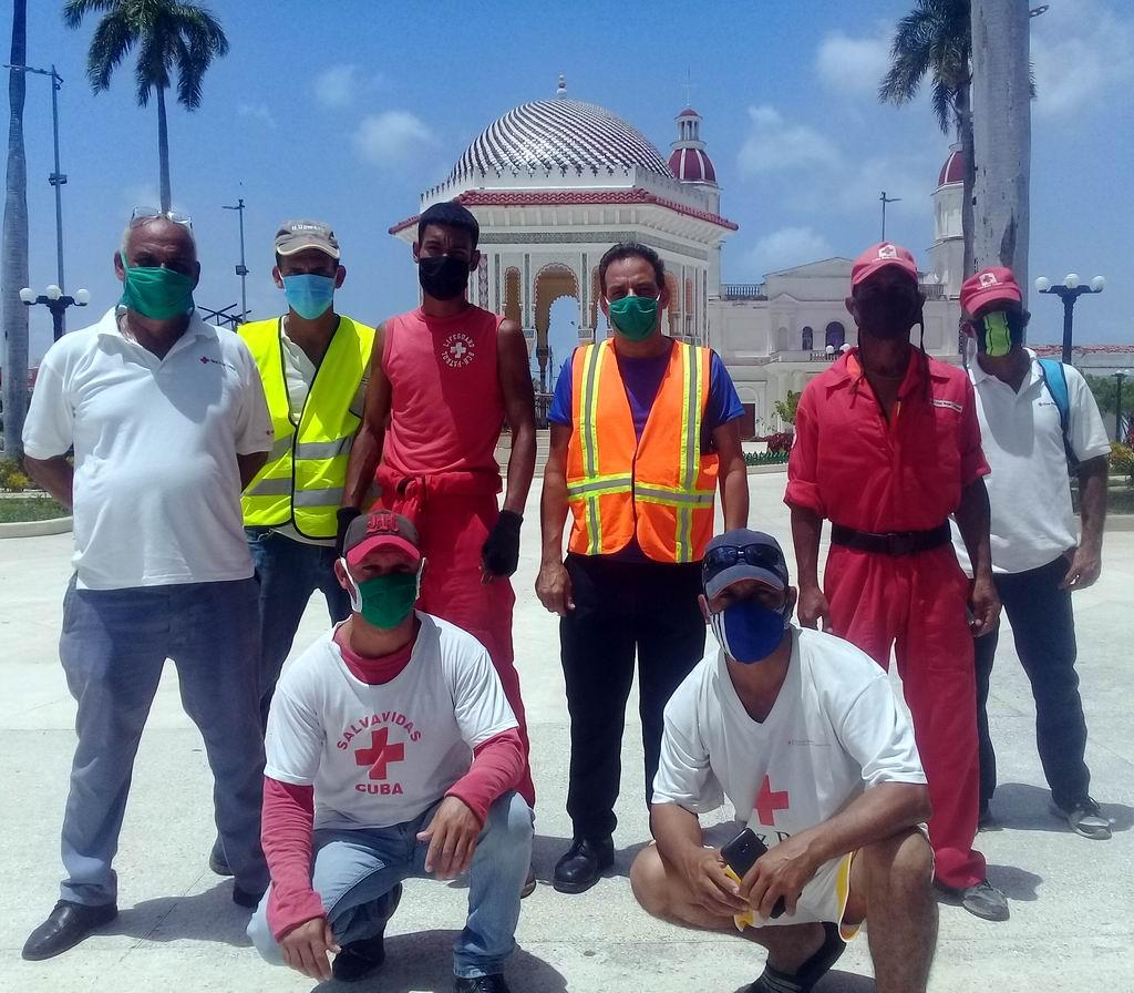 Cruz Roja Cubana en Manzanillo
