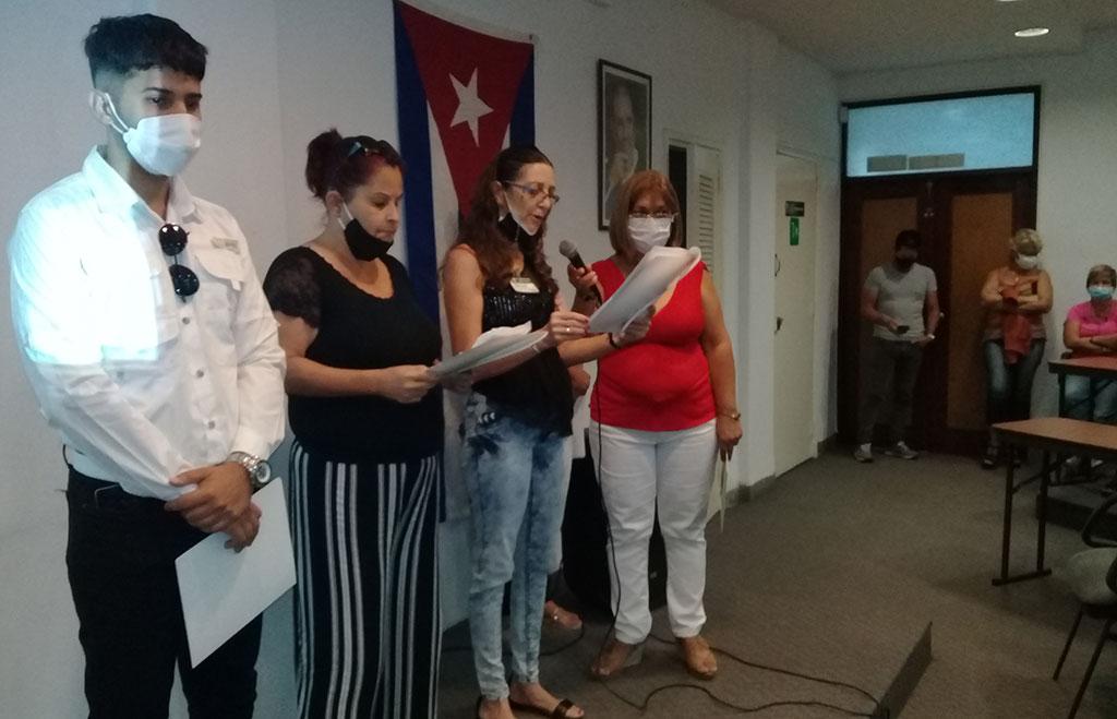 Trabajadores de la Construcción reafirman respaldo a la Revolución (+Audio)