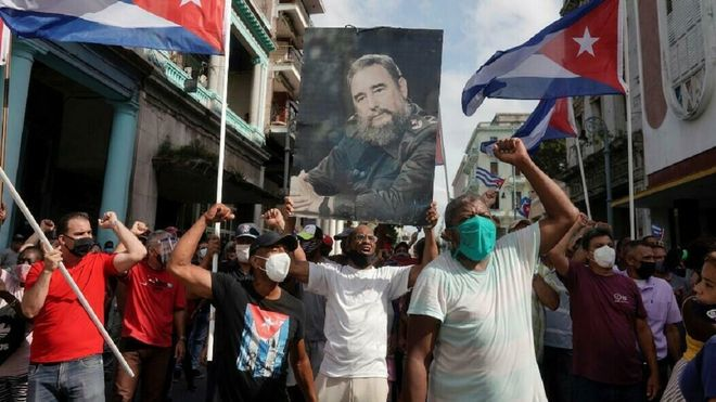 Cuba en permanente Moncada