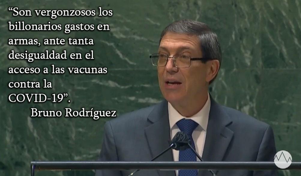 Ante tantas desigualdades en el mundo, son vergonzosos los gastos en armas, afirma Cuba en la ONU (+ Audio)
