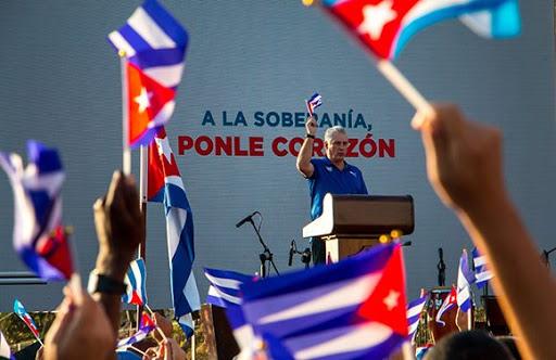 Presidente cubano destaca la unidad del pueblo y la Revolución (+Discurso)