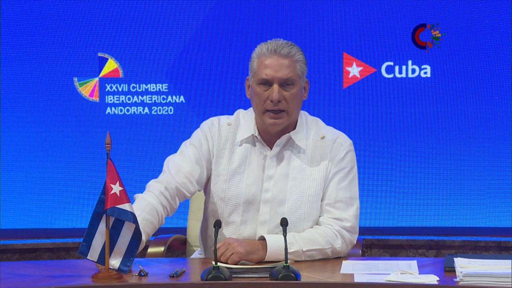Aboga Díaz-Canel por la inclusión iberoamericana para favorecer el desarrollo (+ Audio)
