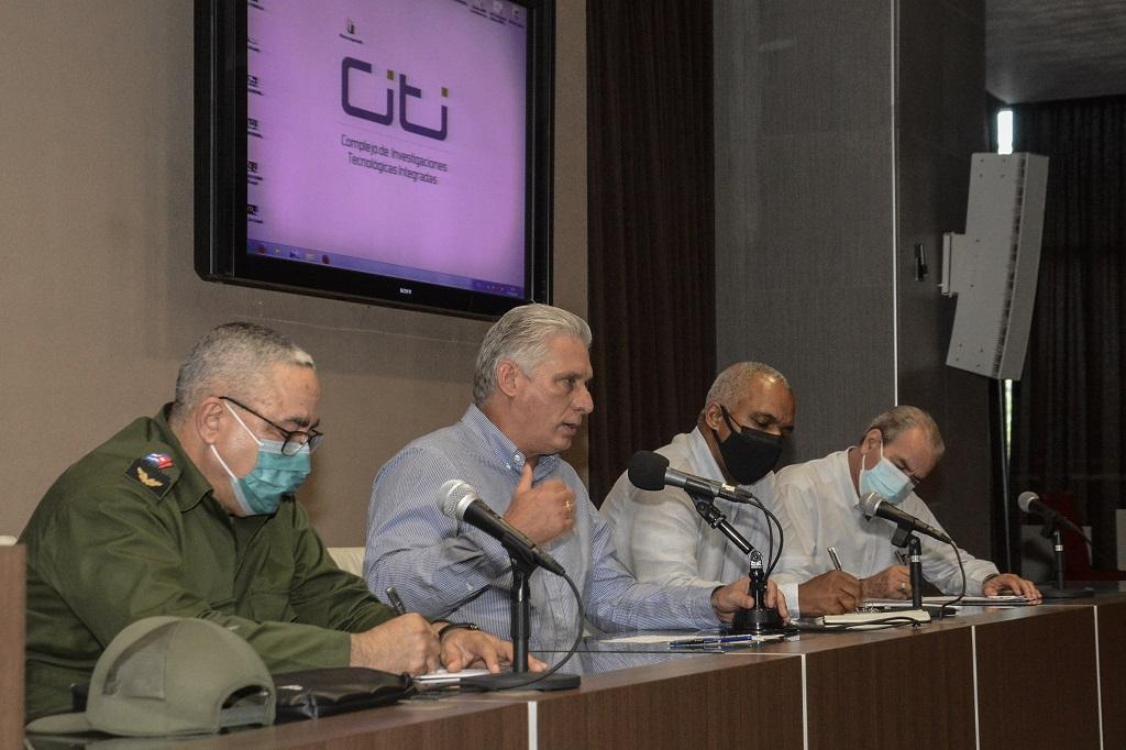 Díaz-Canel en la CUJAE: Un viaje a las esencias