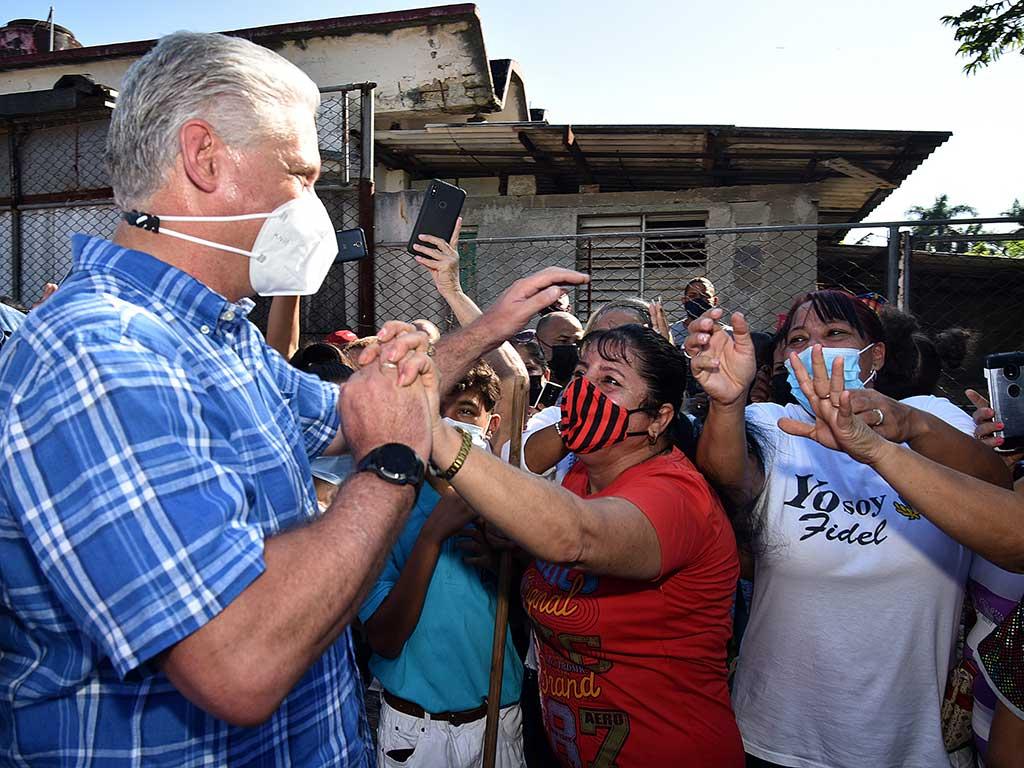 Ponerle corazón al barrio, es ponerle corazón a Cuba (+Audio y Fotos)