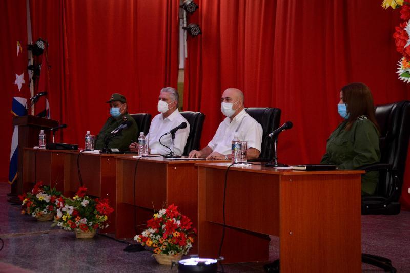 Preside Díaz-Canel Pleno Extraordinario del Comité Provincial del Partido en Cienfuegos (+Audio)