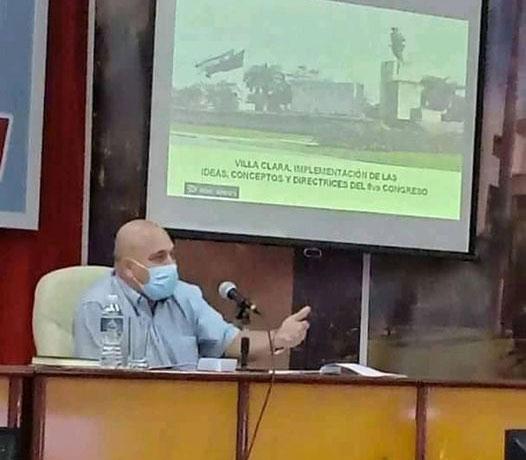 """Díaz-Canel en Villa Clara: """"La premisa debe ser siempre la verdad, por más dura que sea, así siempre lo hacía Fidel"""""""