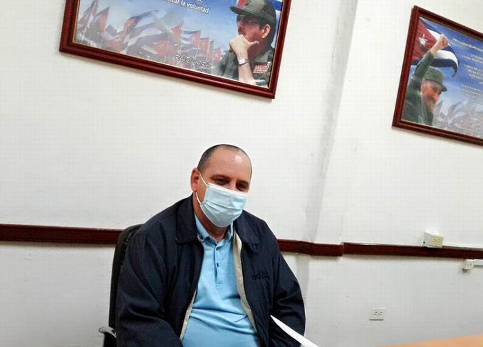 Director Provincial de Salud, Doctor Salvador Tamayo Muñiz