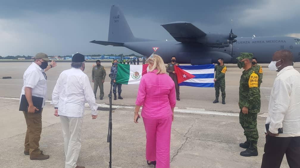 Respuesta rápida y continuada ofrece México a las necesidades de Cuba