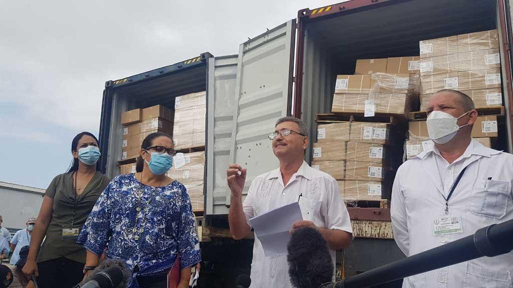 Donativo de jeringuillas favorece vacunación en Cuba