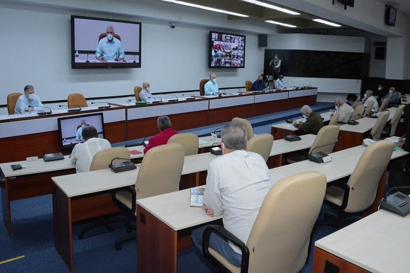 Díaz-Canel: En Cuba se trabaja con el concepto de pueblo (+Audio)
