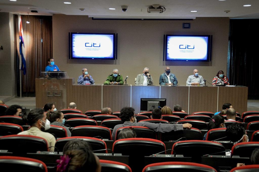 Díaz-Canel en la CUJAE: Sepan que contamos con ustedes (+Audio)
