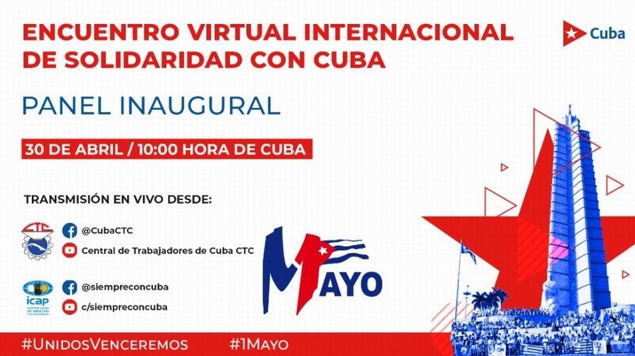 Voces sindicales se unirán contra el bloqueo hacia Cuba