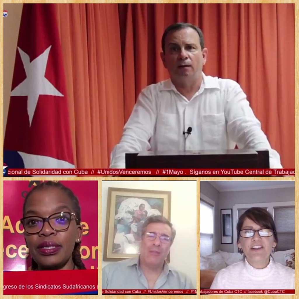 Encuentro de Solidaridad con Cuba: Sindicalistas del mundo contra el bloqueo