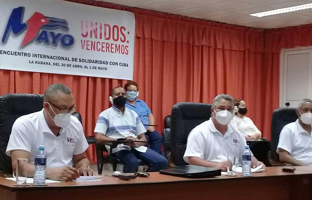 Sindicalistas del mundo rechazan bloqueo contra Cuba