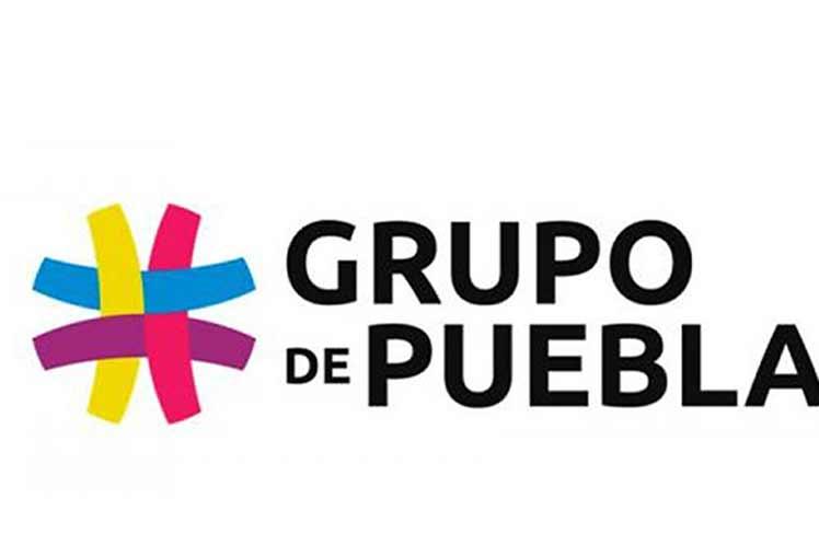 Agradece Cuba al Grupo de Puebla por su apoyo y su condena al bloqueo de EE. UU.