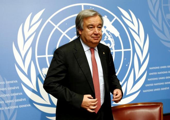 Felicita Cuba a António Guterres por su reelección como secretario general de la ONU